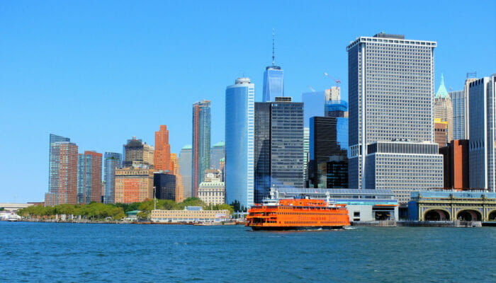 Staten Island New Yorkissa - Skyline