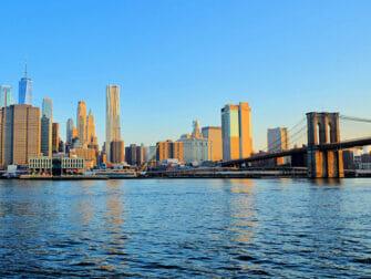 Elokuvien ja sarjojen kuvauspaikat New Yorkissa - Brooklyn Bridge