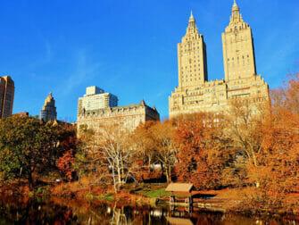 Elokuvien ja sarjojen kuvauspaikat New Yorkissa - Central Park