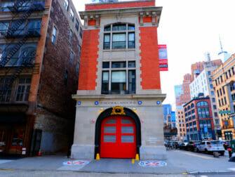 Elokuvien ja sarjojen kuvauspaikat New Yorkissa - Haamujengi