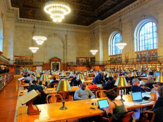 Elokuvien ja sarjojen kuvauspaikat New Yorkissa - Public Library