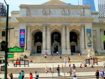 Elokuvien ja sarjojen kuvauspaikat New Yorkissa - The Day After Tomorrow Public Library