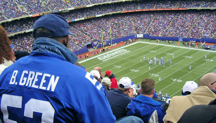 NFL amerikkalainen jalkapallo New Yorkissa