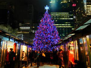 Joulumarkkinat New Yorkissa
