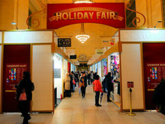 Joulumarkkinat New Yorkissa - Grand Central