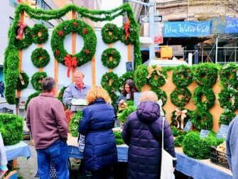 Joulumarkkinat New Yorkissa - Union Squaren joulu