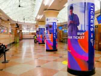 Penn Station New Yorkissa - NJ Transit