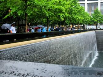 New York sateella - 9/11 Memorial