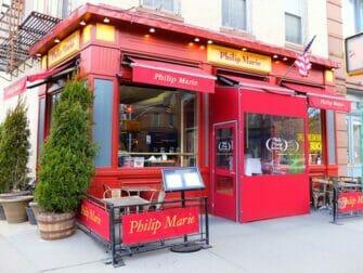 Ravintolat New Yorkissa Philip Marie