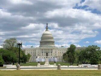 Alennuspassit Washington D.C.:n nähtävyyksille - Capitol