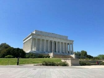Alennuspassit Washington D.C.:n nähtävyyksille - Lincoln Memorial