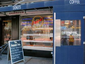Parhaat donitsit New Yorkissa - The Donut Pub