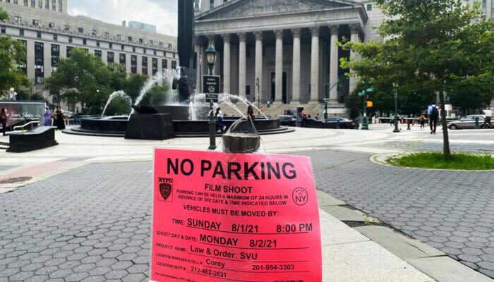 Elokuvien ja sarjojen kuvauspaikat New Yorkissa - Ei pysäköintiä