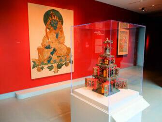 Rubin Museum of Art New Yorkissa - Taidetta