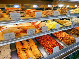 Supermarketit New Yorkissa - Whole Foods -valikoima