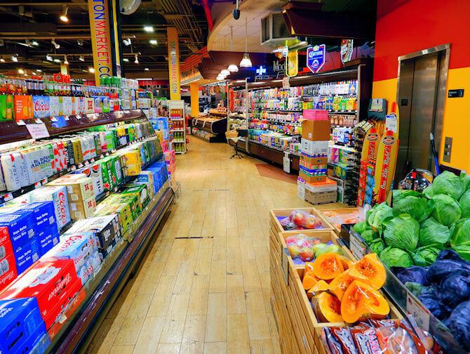 Supermarketit New Yorkissa