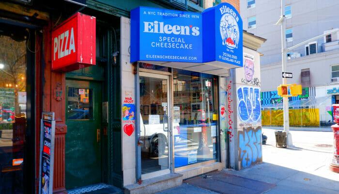 Paras cheesecake New Yorkissa - Eileen's Special Cheesecake