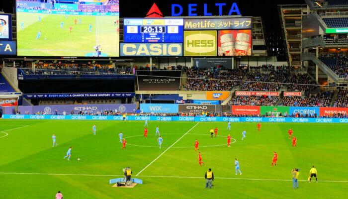 MLS-jalkapallo New Yorkissa