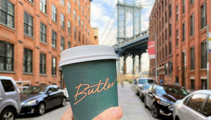 Parhaat kahvilat ja bagelit New Yorkissa - Butler-kahvi