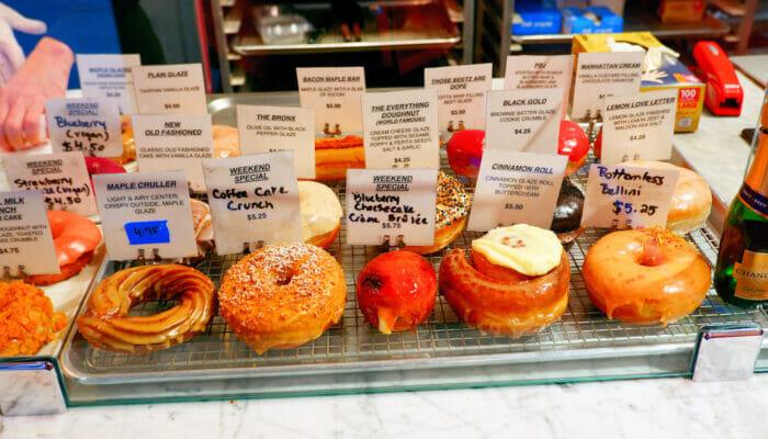 Parhaat donitsit New Yorkissa - The Doughnut Project