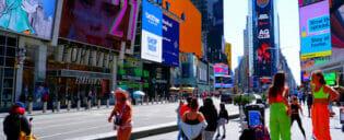 New York rokottaa turisteja