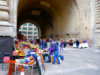 Kirpputorit New Yorkissa - Dumbo Flea Market