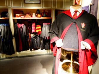 Harry Potter -kauppa New Yorkissa - Sisältä