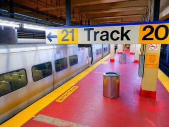 Long Island Rail Road New Yorkissa - LIRR-laituri