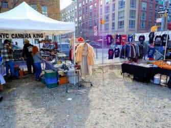 Kirpputorit New Yorkissa - Williamsburg Flea Market