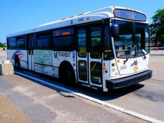 New Jersey Transit New Yorkissa - NJ Transit -paikallisbussi