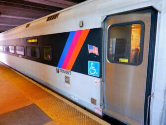 New Jersey Transit New Yorkissa - Raide