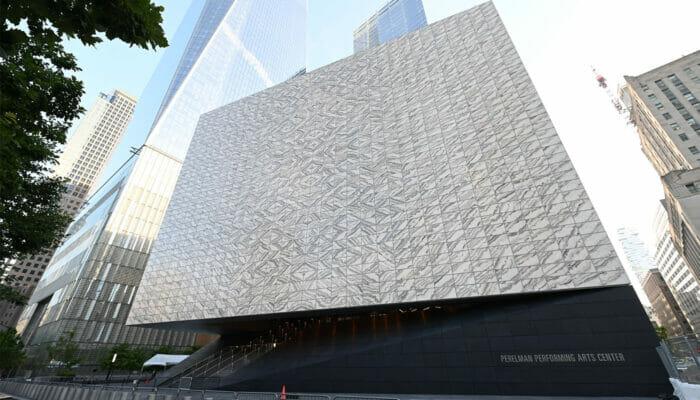Performing Arts Center New Yorkissa - Ulkoa