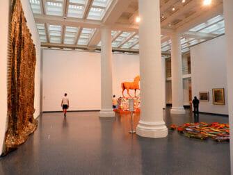 Brooklyn Museum New Yorkissa - Museon sisällä