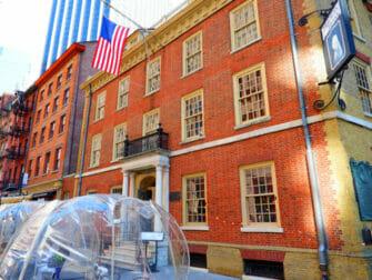 Opastetut Hamilton-kierrokset New Yorkissa - Fraunces Tavern