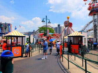 Luna Park Coney Island -liput - Hauskanpitoa