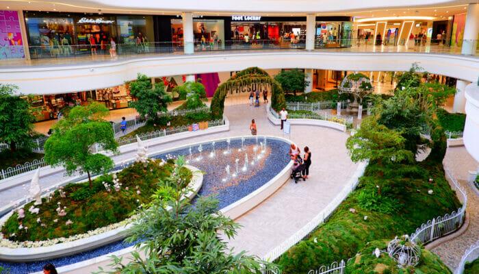 American Dream Mall New Yorkin lähellä - Puutarha