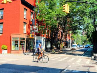 Manhattan in New York Greenwich Village