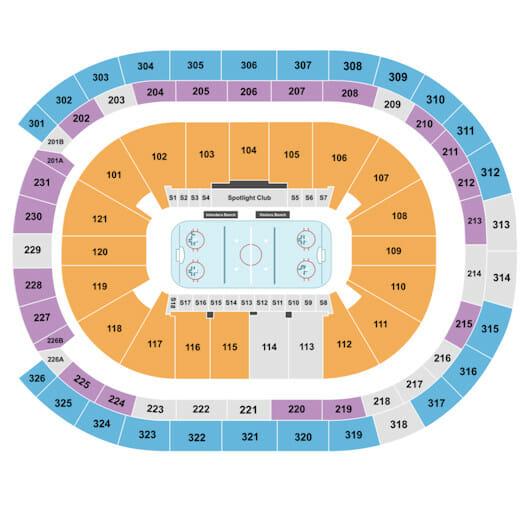 New York Islanders -liput - Katsomokartta