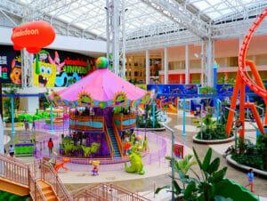Nickelodeon Universe huvipuisto New Yorkin lähellä liput