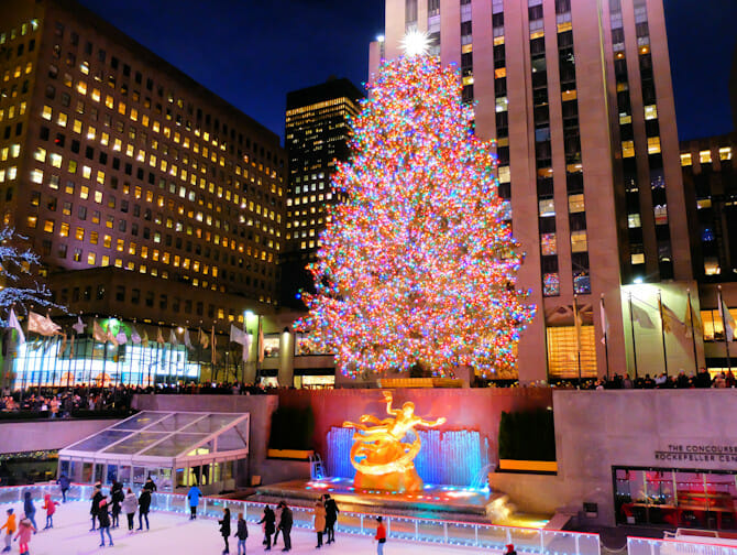 Rockefeller Center Christmas Tree Lighting Ceremony Tree